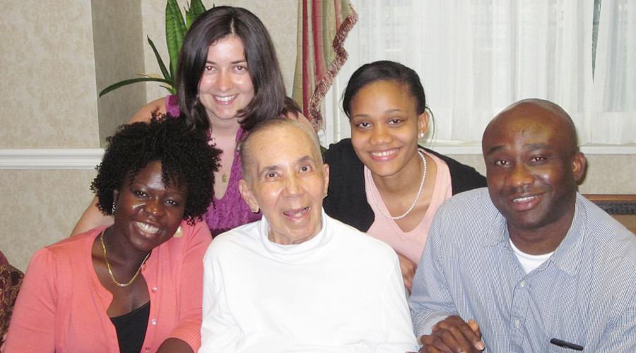 Dr. Raolat Abdulai, Dr. Silvia Gesheva, Dr. Geraldine Mowbray, Bolanle Abayomi, and Chijindu Nworgu.